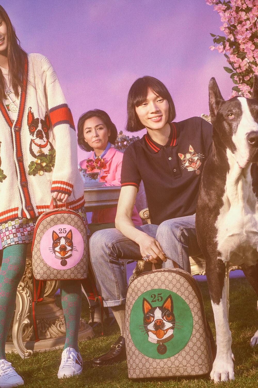 Gucci celebra el Año Nuevo Chino con Petra Collins y una cápsula canina 100% chic