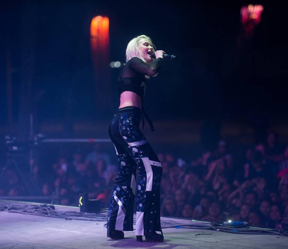 Zara Larsson. Fotografía: Festival Lollapalooza Chile