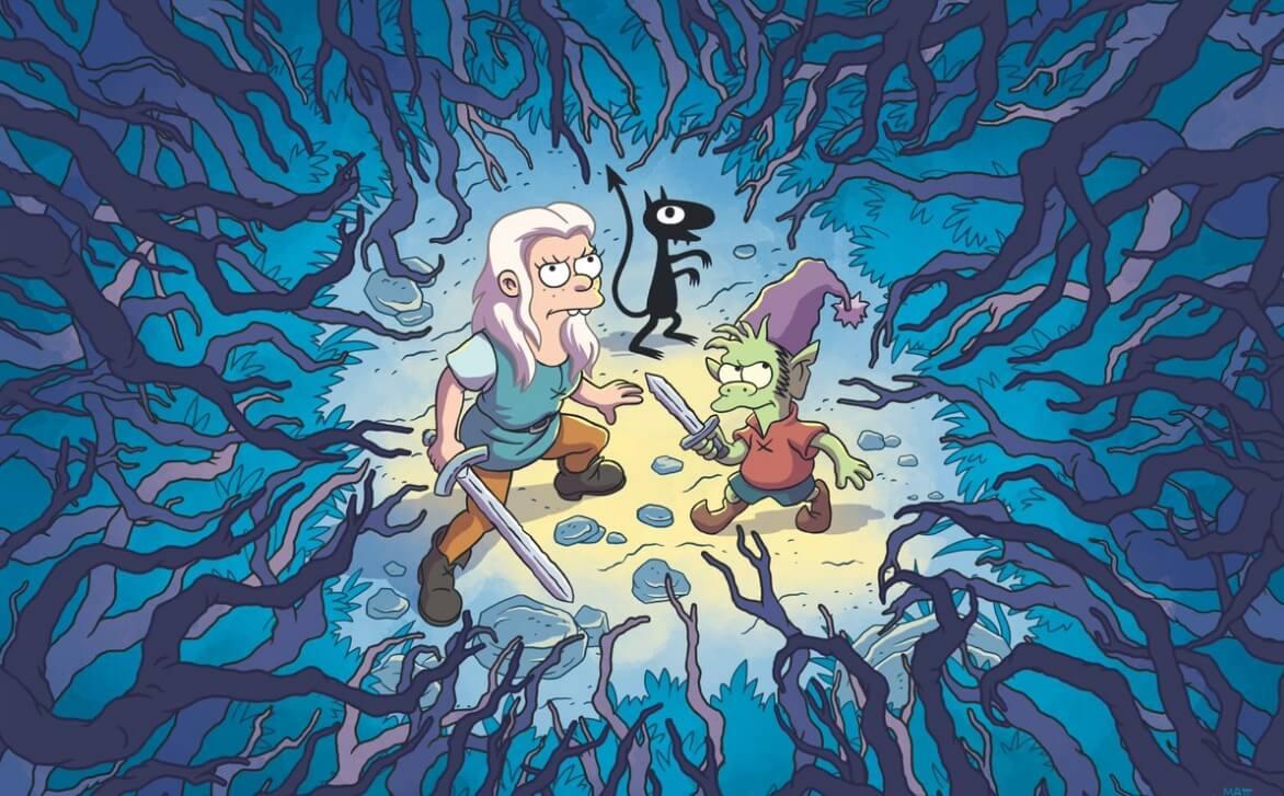 """Llega el primer teaser de """"Disenchantment"""", la nueva serie animada de Matt Groening para Netflix"""