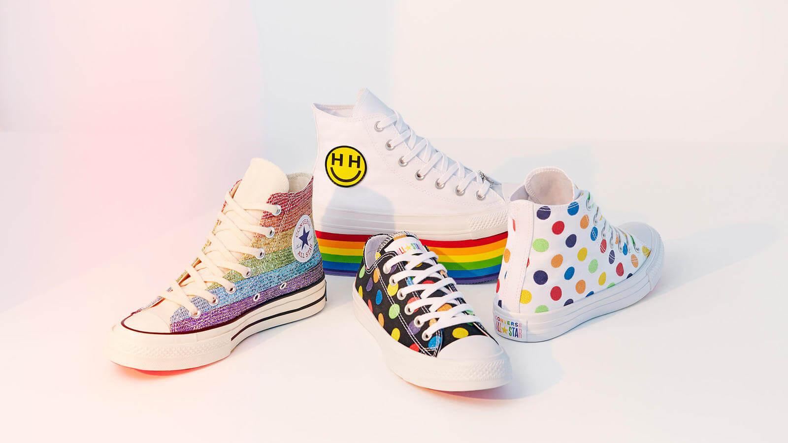 Converse x Pride 2018: La colorida colección de Miley Cyrus que celebra el #PrideMonth con glitter