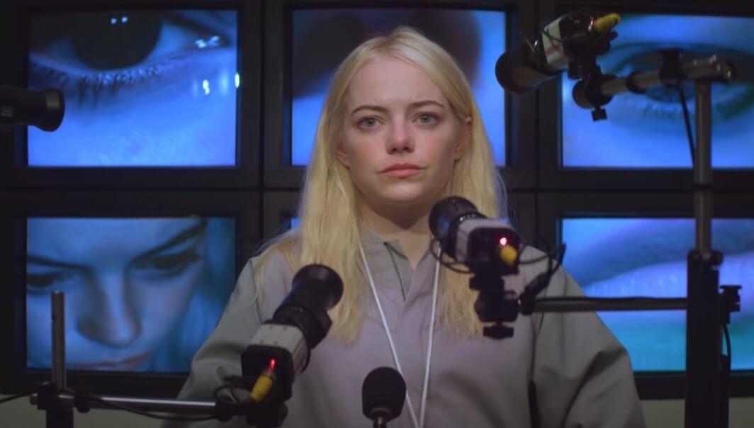 """El nuevo trailer de """"Maniac"""" muestra a Emma Stone y Jonah Hill como almas gemelas en un demente experimento"""