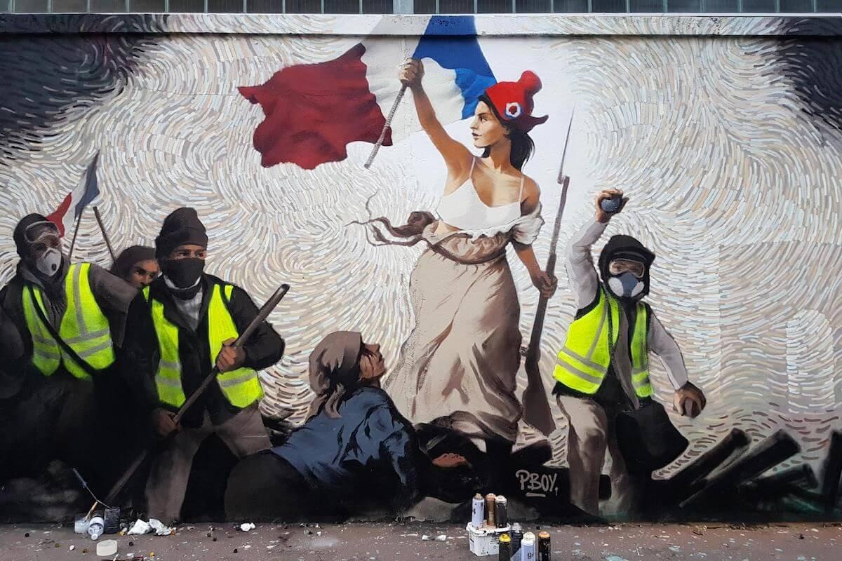 Este street artist escondió 1000 dólares en bitcoin en un nuevo mural