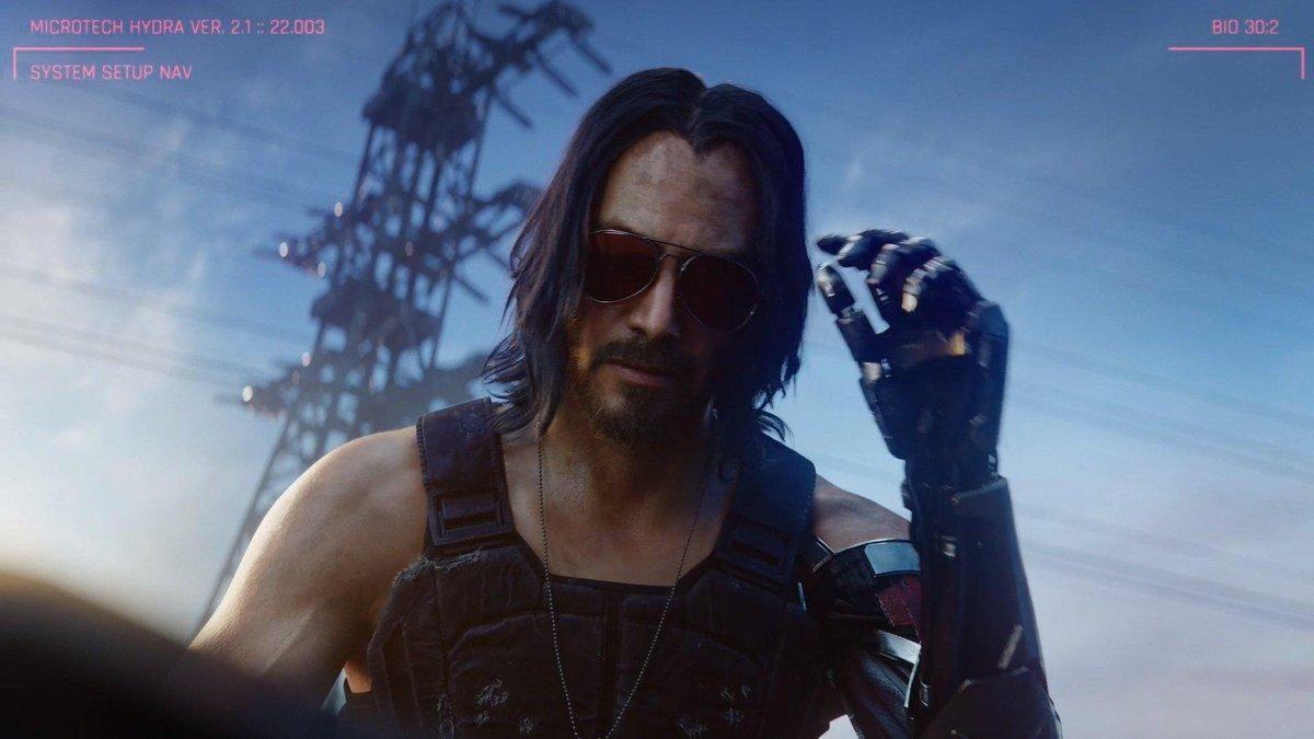 "Keanu Reeves será el protagonista del distópico videojuego ""CYBERPUNK 2077"""