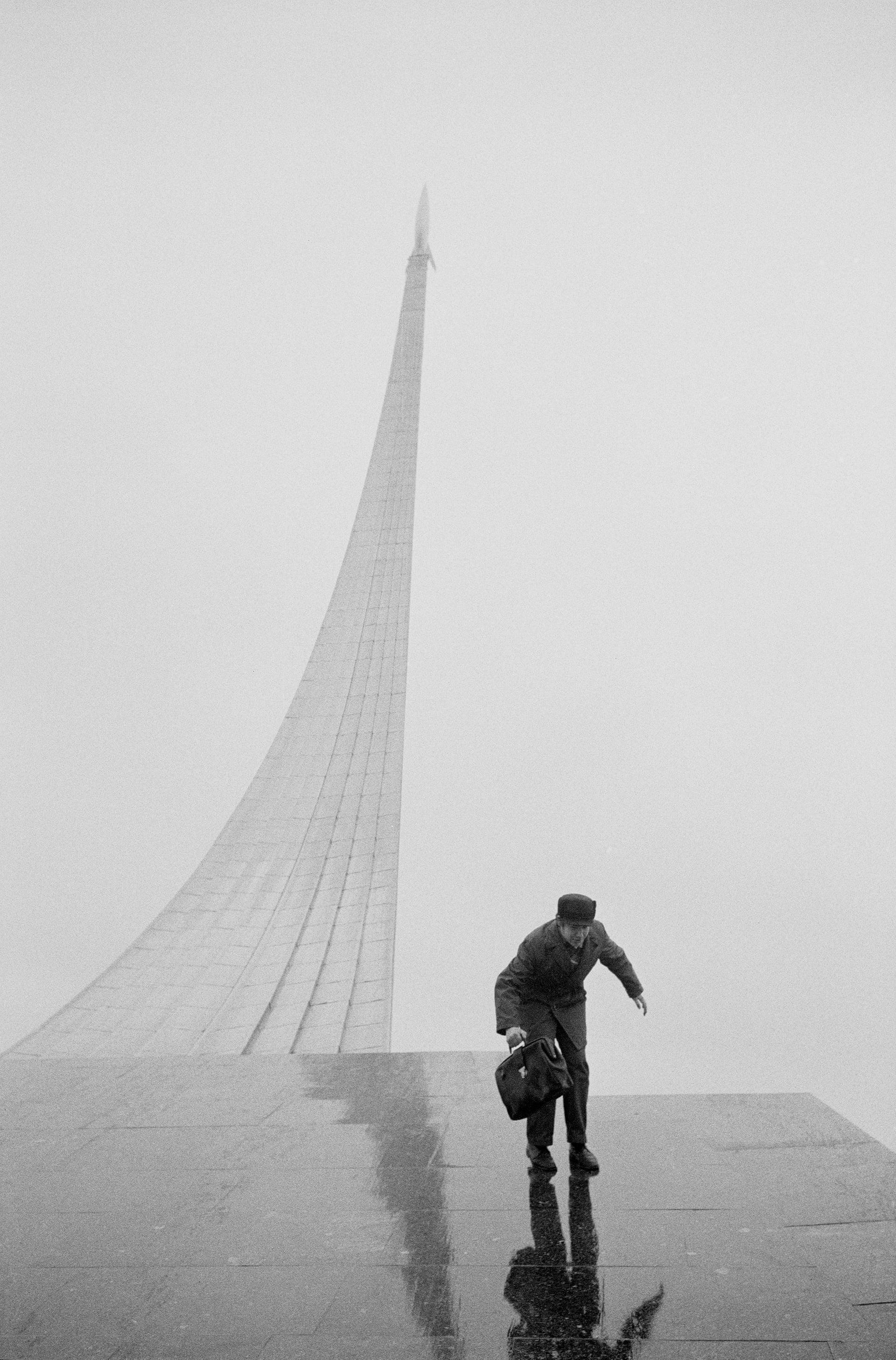 """""""Museum of Cosmonautics, Moscow, 1974"""". Fotografía: Brian Griffin"""