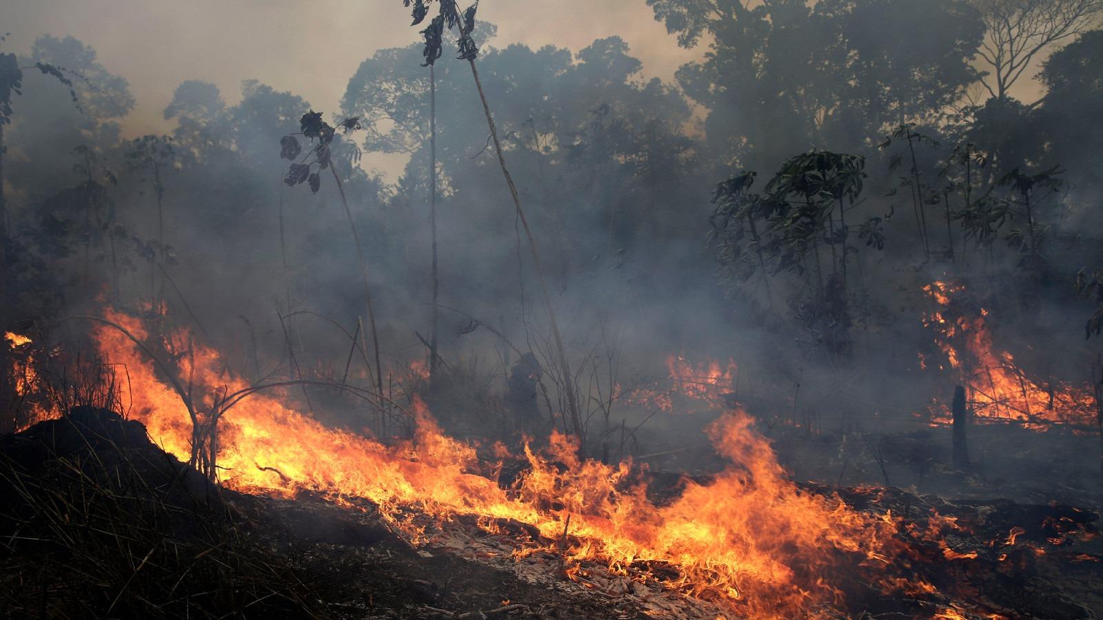 Bolsonaro podría visitar zonas afectadas y recibir ayuda de los EE.UU. y Alemania