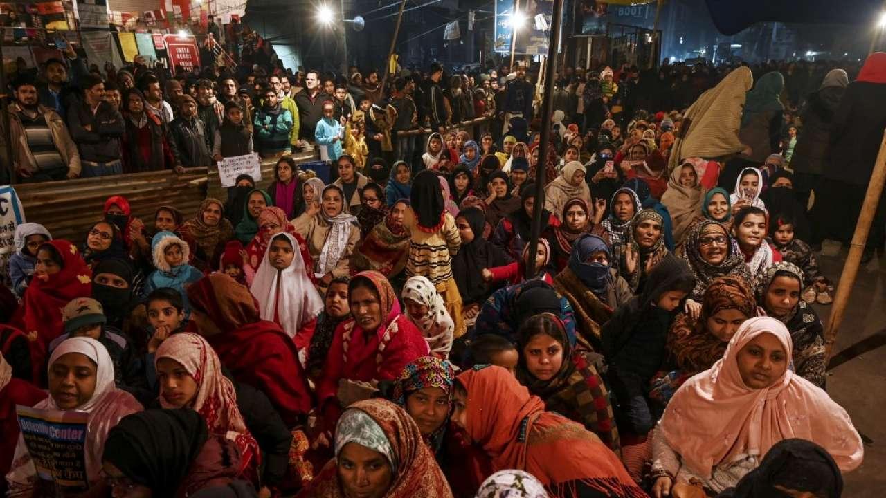 """""""No tengo miedo de nada"""": Mujeres en la India lideran las protestas ciudadanas contra Modi"""