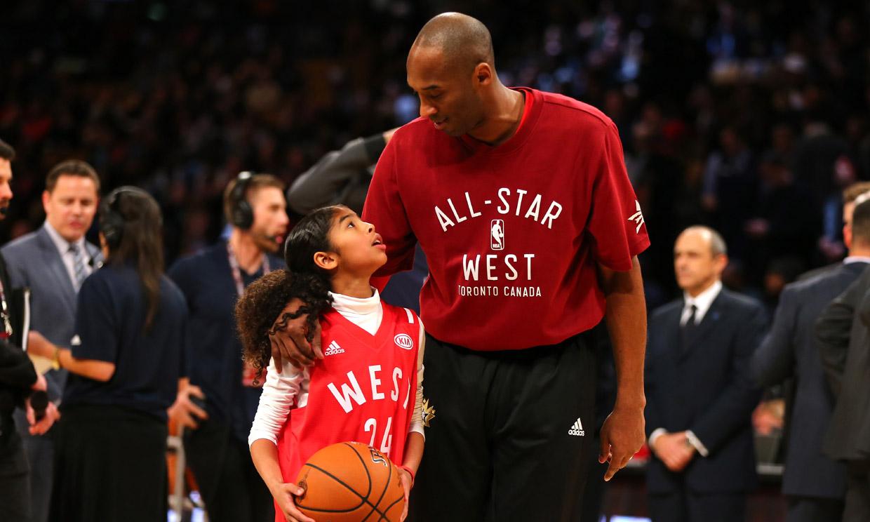 Kobe Bryant y Gianna Bryant. Fotografía: Hola