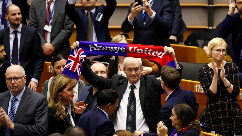 Parlamento Europeo aprobó el acuerdo del Brexit