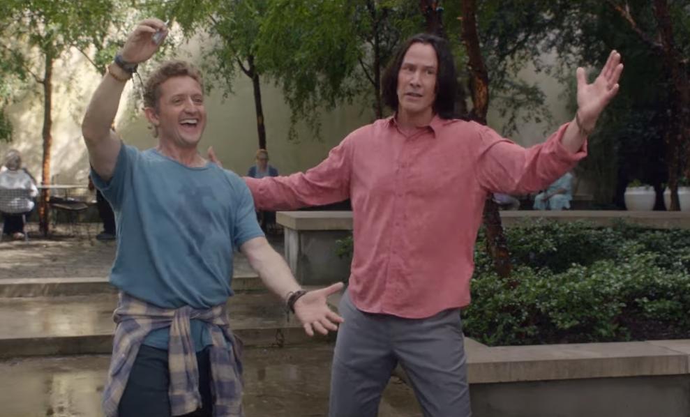 """""""Bill & Ted Face The Music"""": Kid Cudi se une a la excelente aventura de Keanu Reeves y Alex Winter"""