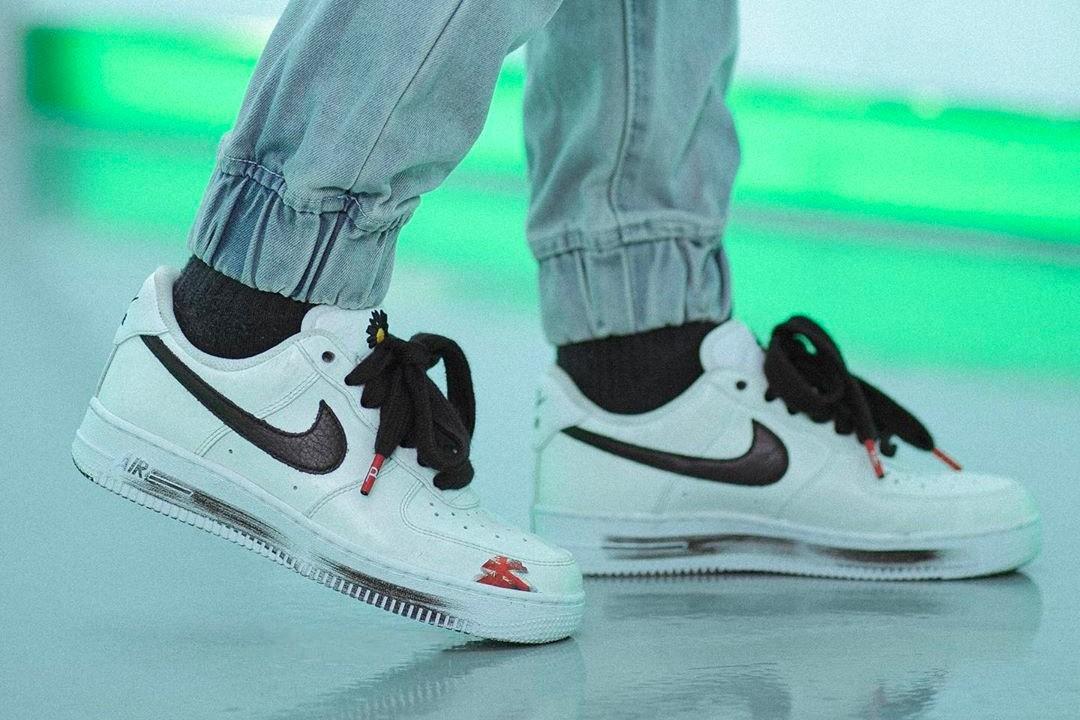 """G-Dragon y Nike se unen para la nueva zapatilla PEACEMINUSONE x Air Force 1 """"Para-Noise 2.0"""""""