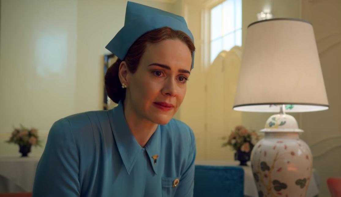 """""""Ratched"""": Sarah Paulson  está lista para hacerte una lobotomía en este espeluznante trailer"""