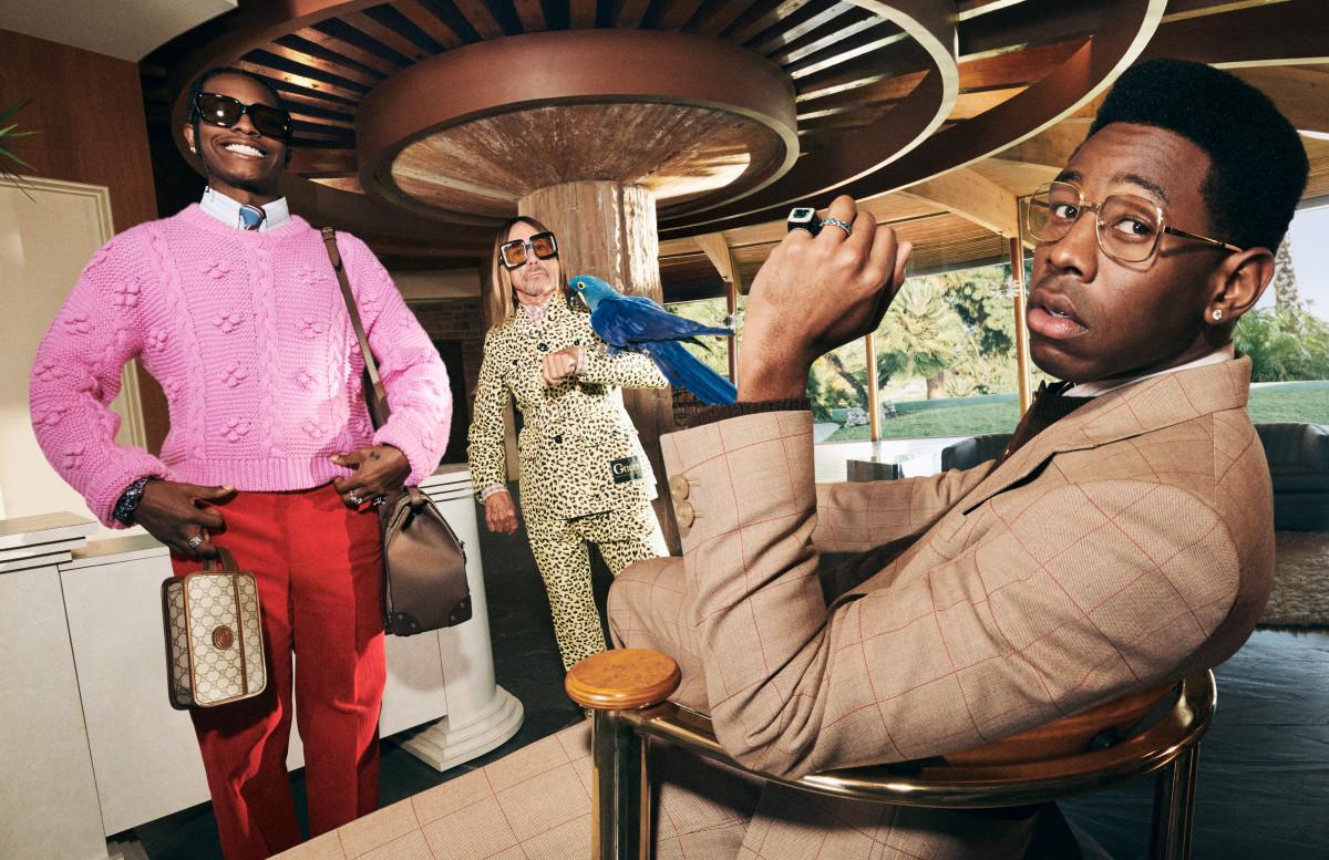 A$AP Rocky, Tyler, The Creator e Iggy Pop son los rockstars de la nueva campaña de Gucci Tailoring