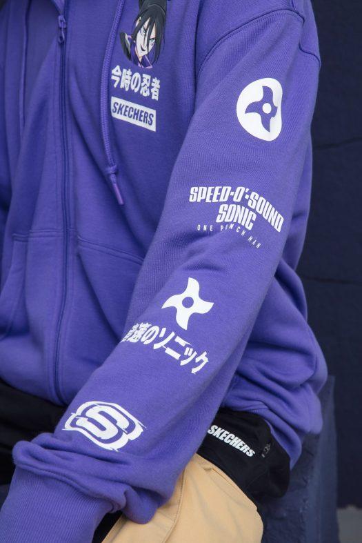 One Punch Man x Skechers. Fotografía: Skechers