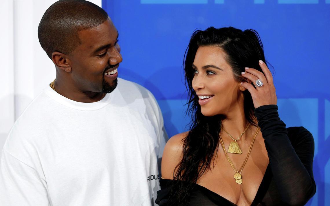 Kanye West habría intentado vender joyas que le regaló a Kim Kardashian