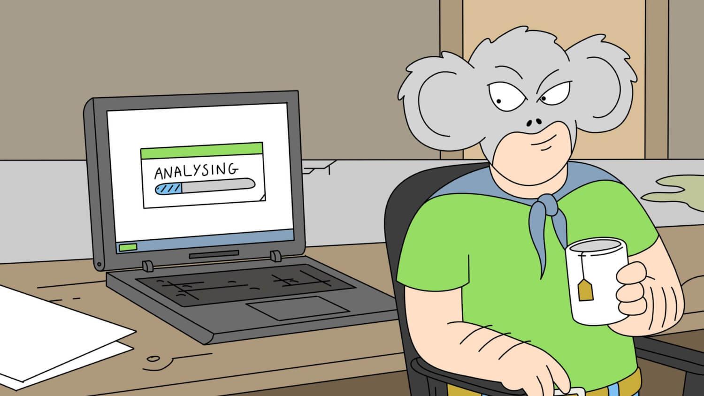 """El co-creador de """"Rick y Morty"""" produce la serie animada de """"Koala Man"""" llena de humor para adultos"""