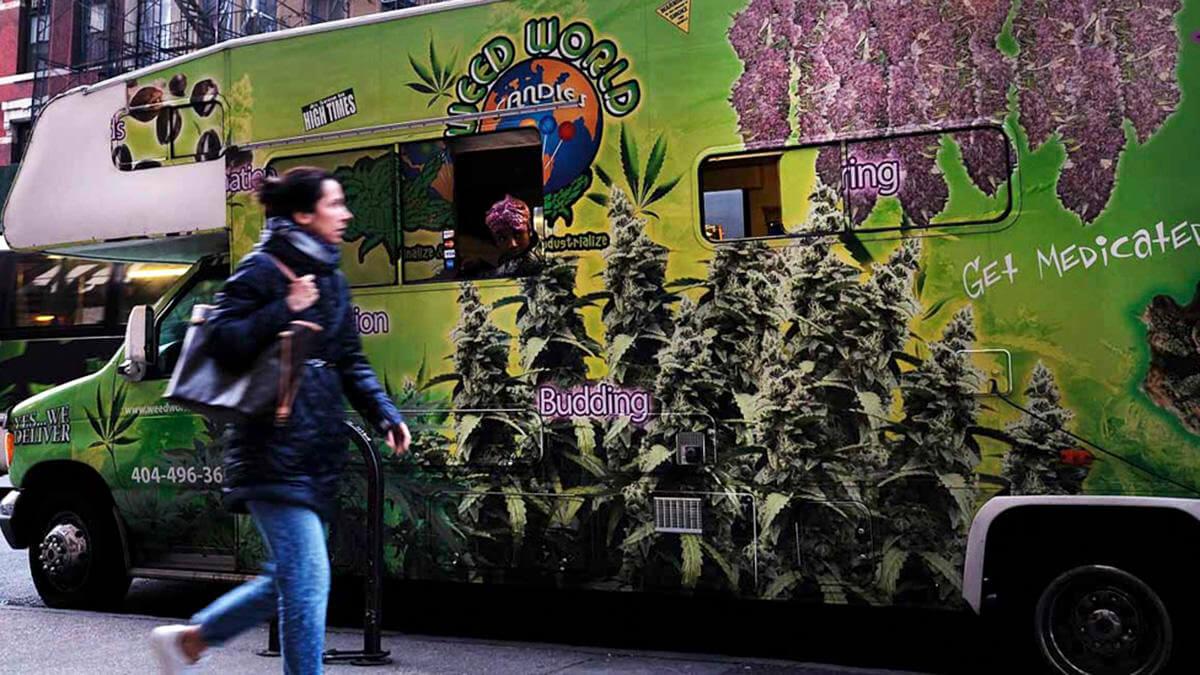 El consumo de marihuana recreacional es ahora legal en Nueva York