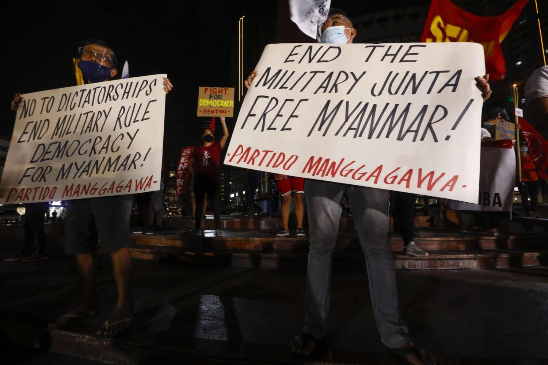 Unión Europea impone a sanciones a miembros de la Junta Militar de Myanmar