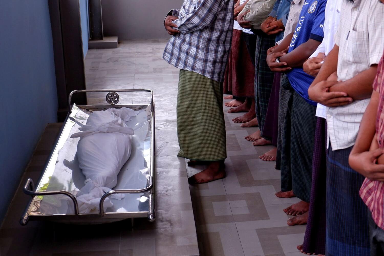 Myanmar en huelga por el asesinato de una niña de 7 años, la oposición a la junta militar se retira de las calles