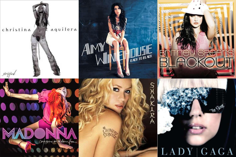 10 albums que definieron el pop de los 00s