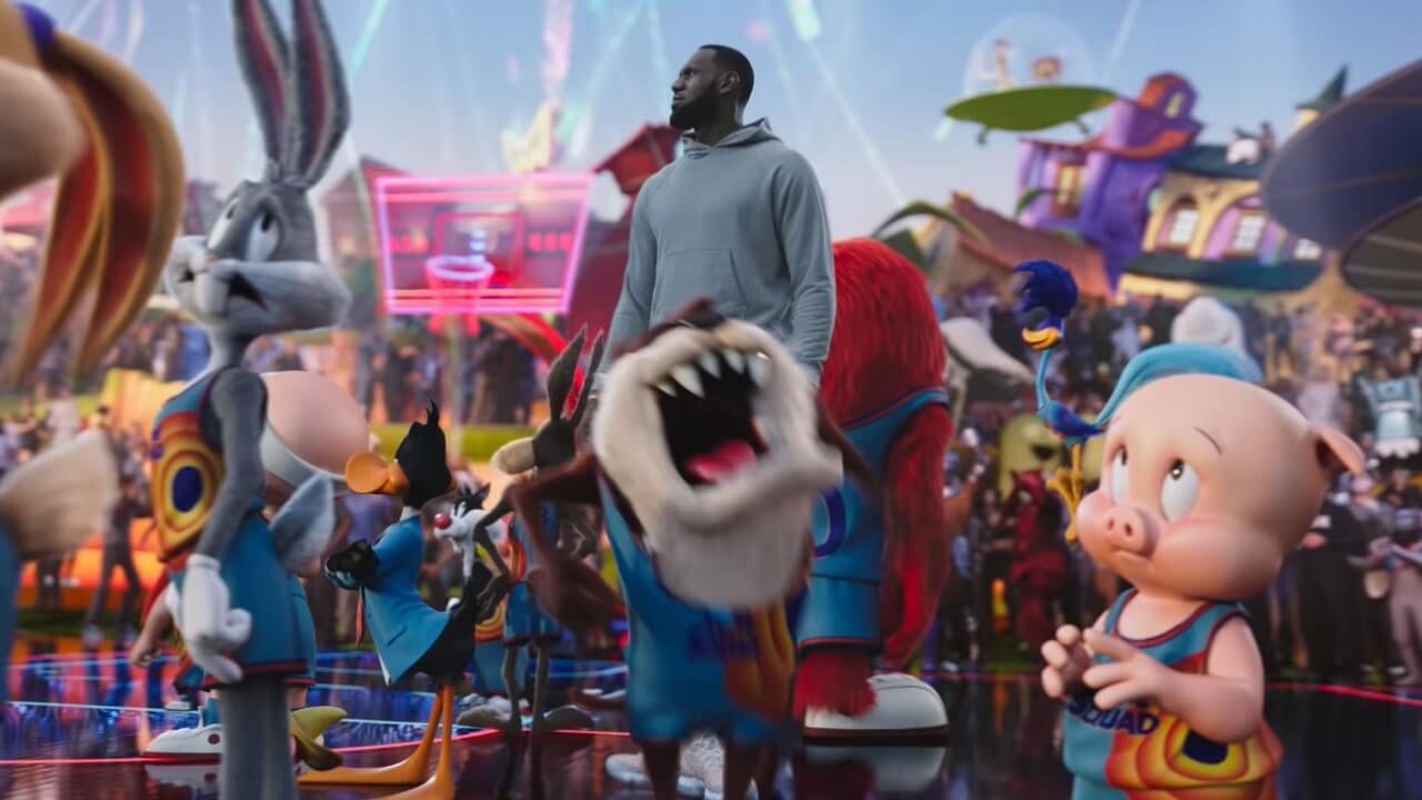 """""""Space Jam: A New Legacy"""": Los Looney Tunes vuelven para dejarlo todo en la cancha junto a LeBron James"""