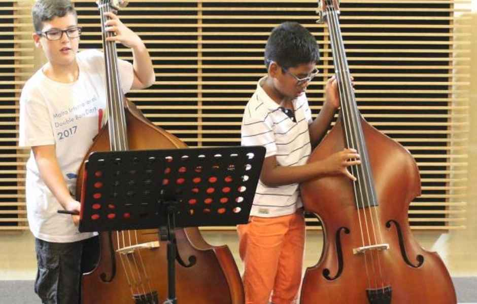 Double Bass Performances at International School of Music in Potomac and Rockville