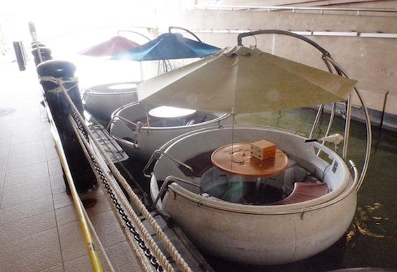 kapal tradisional di cruise putrajaya
