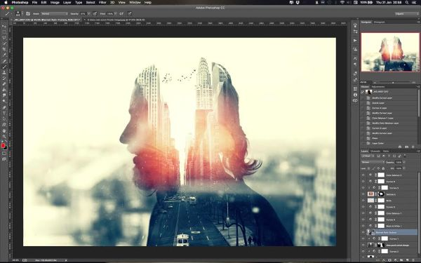 How to Create a Killer Multiple Exposure in Photoshop - 500px