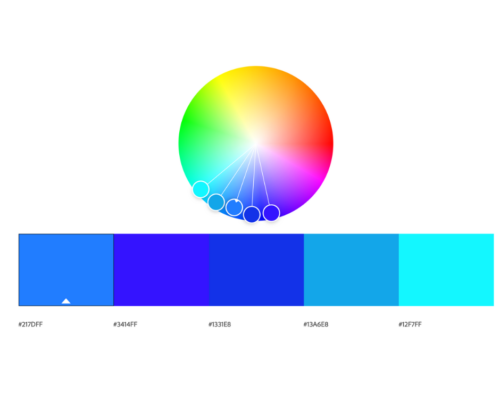 Color wheel -