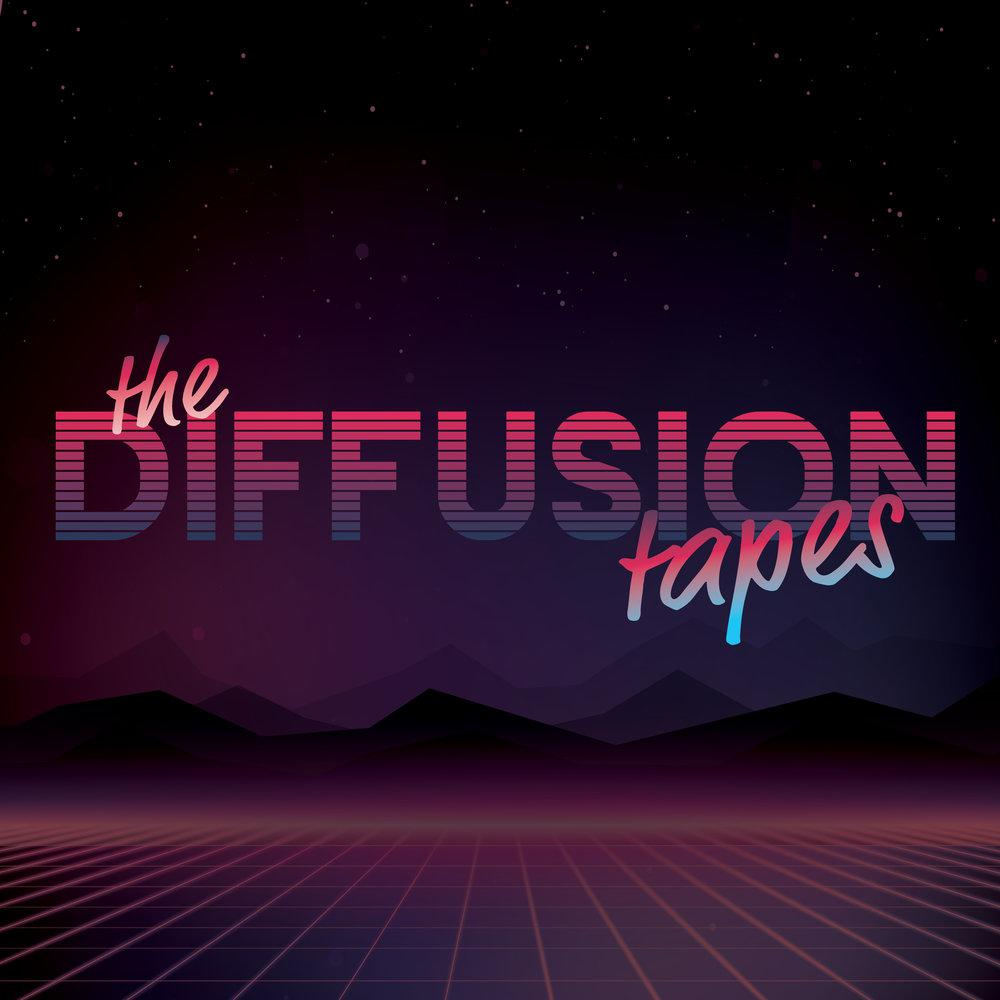 The Diffusion tapes podcast logo