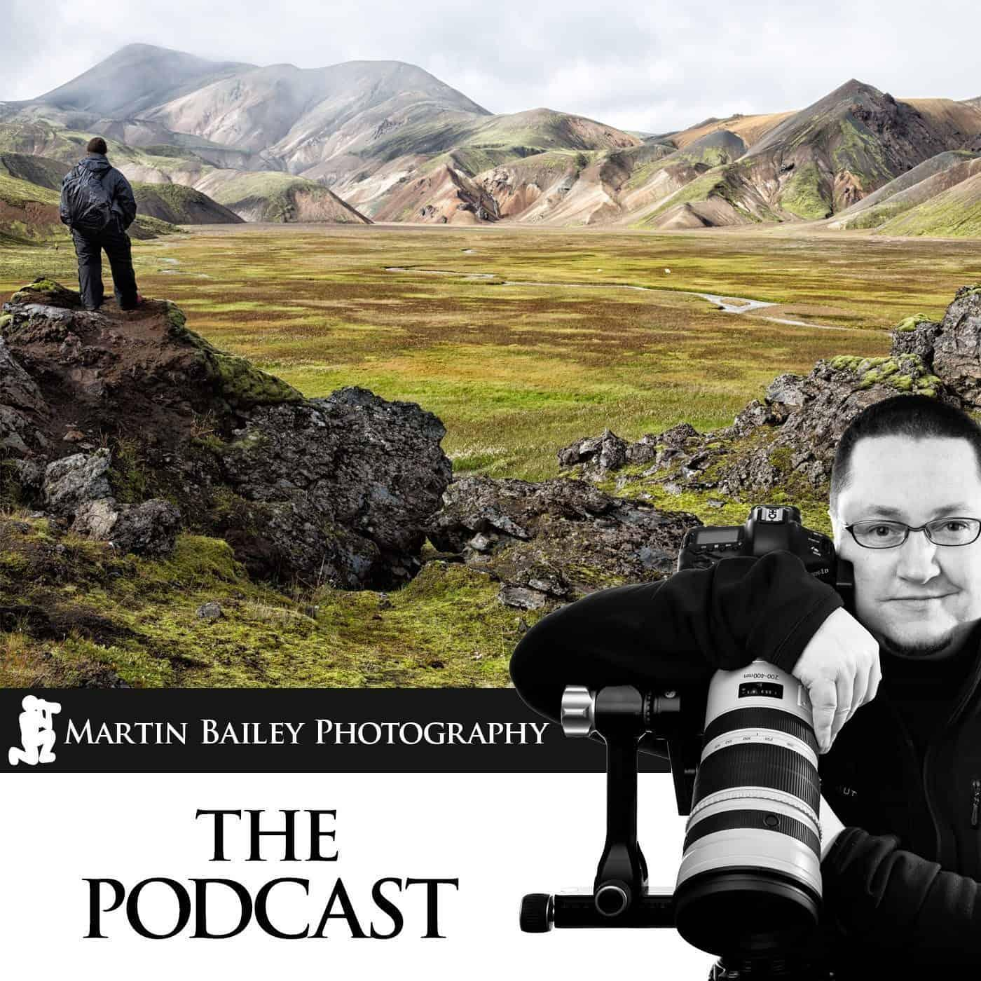 Martin Bailey Photography Podcast Logo