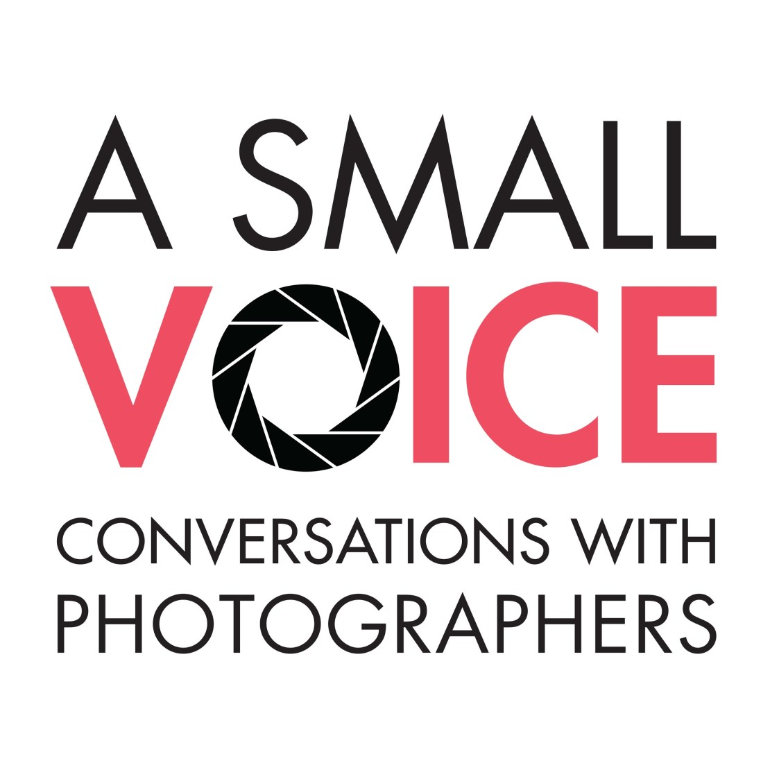 A small voice photography podcast logo