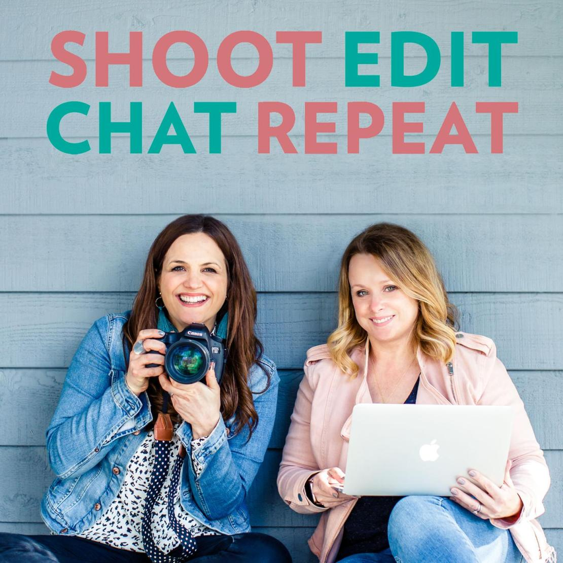 Shoot Edit Chat Repeat Photography Podcast Logo