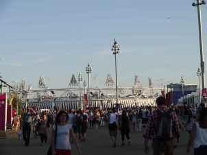 Crowd and stadium