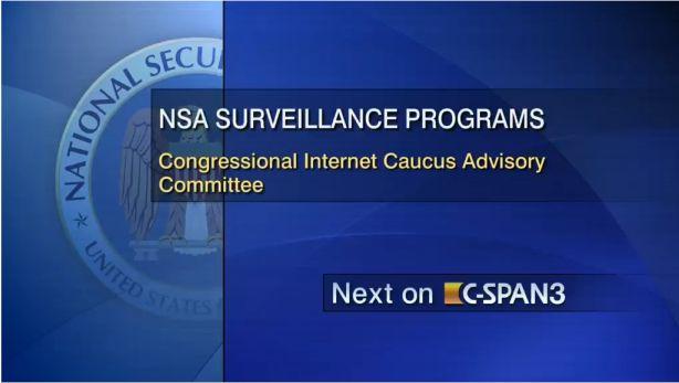 NSA CSPAN
