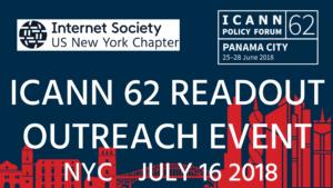 ICANN 62 Readout