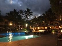 Hotel #1 at night