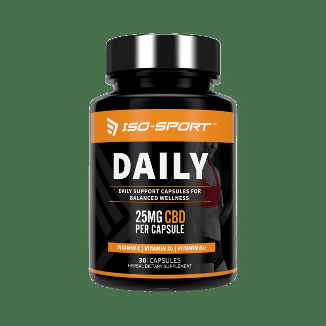 Iso-Sport Daily CBD Capsules