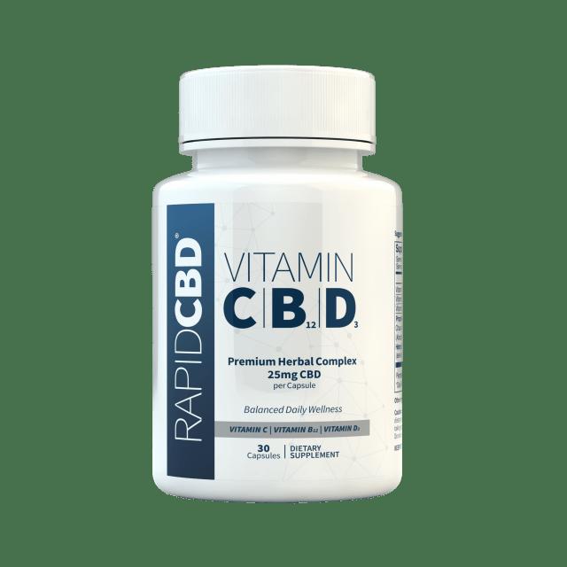 RapidCBD Vitamin C|B12|D3
