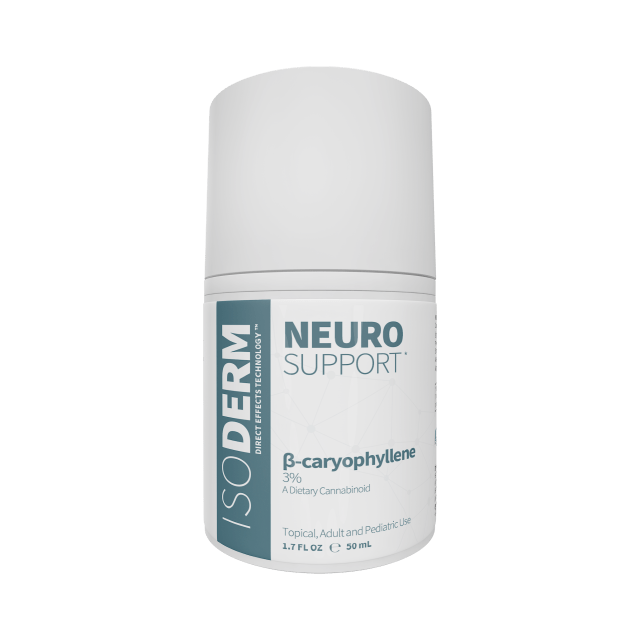 IsoDerm Neuro Support 3% β-Caryophyllene