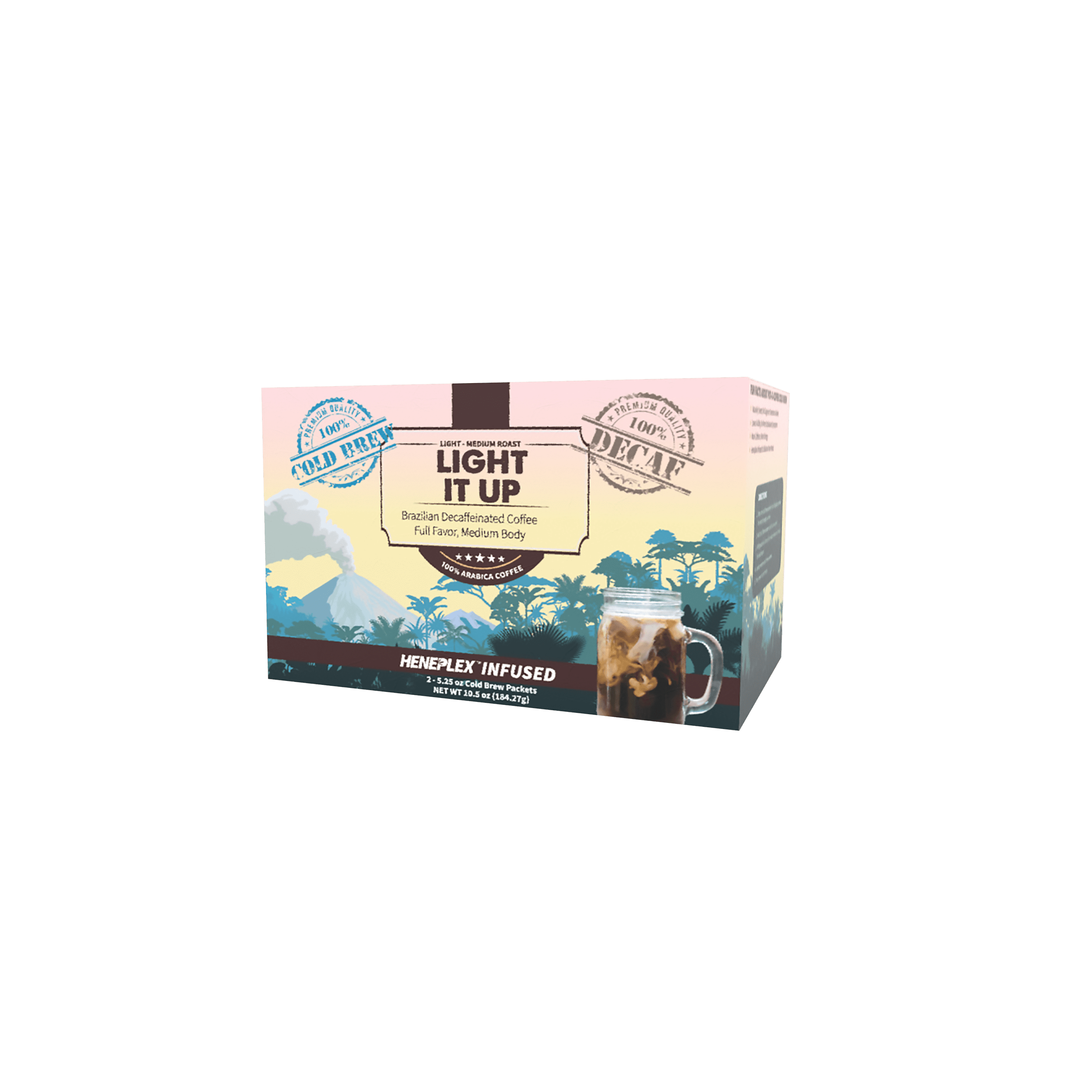 Pot-O-Coffee Light It Up – Decaf – Cold Brew