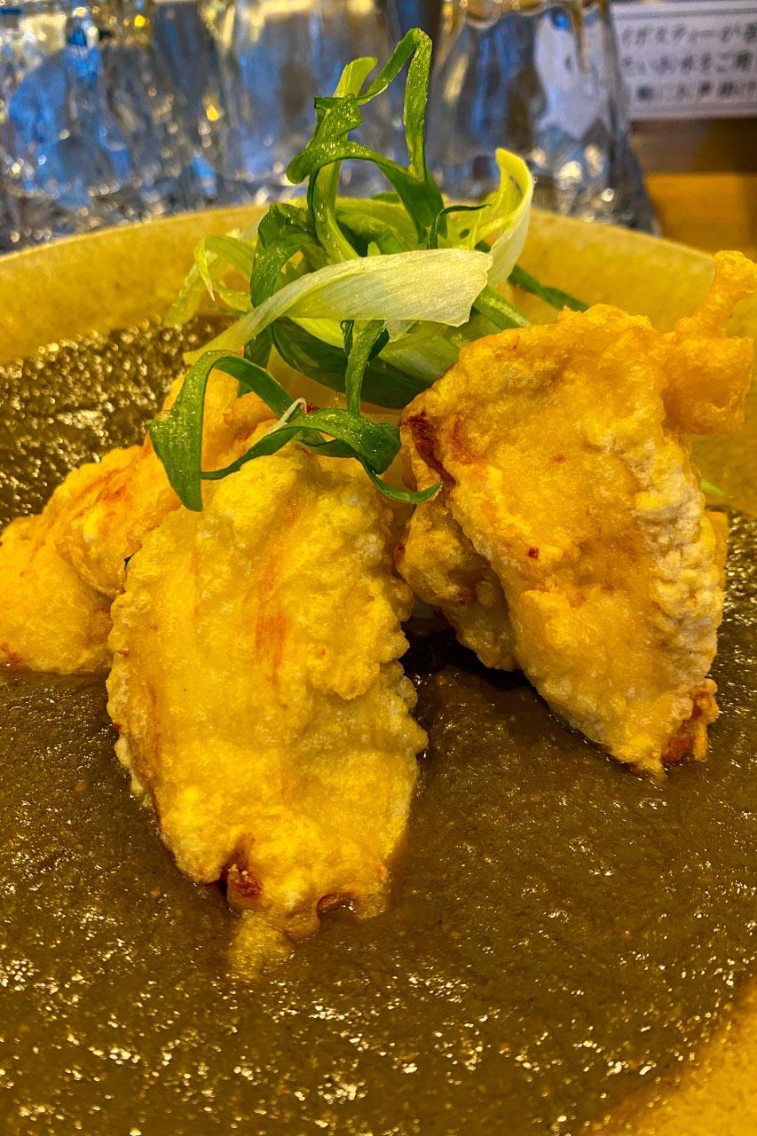 和乃香 揚げ鶏のカレー