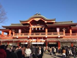 千葉神社が変わる。