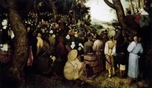 la predicación del Bautista