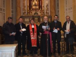 prière œcuménique Comiso