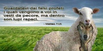 lupi falsi profeti