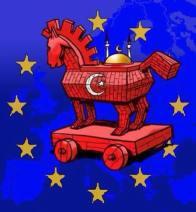 trojan horse Arabic