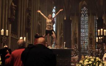 Femen catedral de Colonia