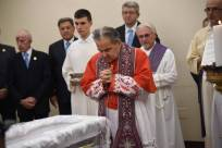 Carlo Caffara funeral Biffi
