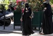 Muslim Burqa Belgio