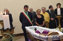 homage of mayor of Bologna Giacomo Biffi